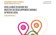 Vers la mise en oeuvre des objectifs de développement durable (traduction partielle)